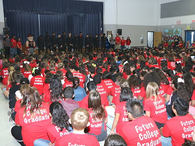Highlands Elementary College Ready kickoff