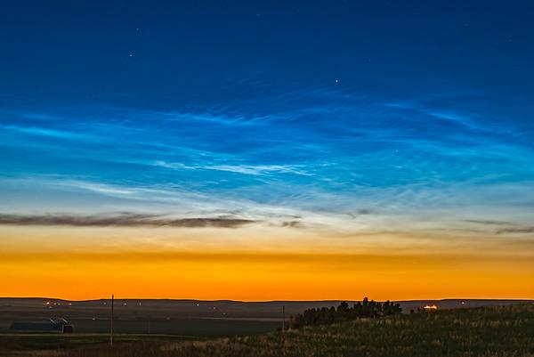 Atmospheric - Noctilucent Clouds