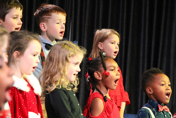 Primary and First Grade Christmas Concert