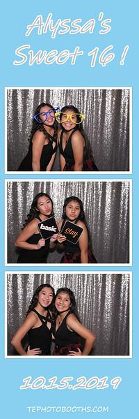 11-16-19  Alyssa's Sweet 16