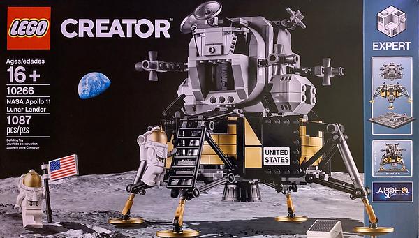 2019-06 LEGO Apollo 11 Lunar Lander Build