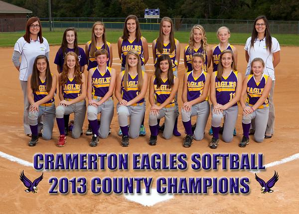 2013 Cramerton Eagles Team