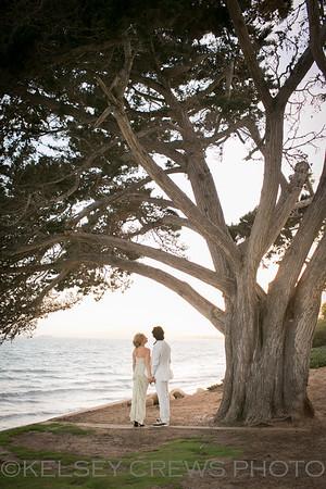 Laura and David's Montecito Wedding