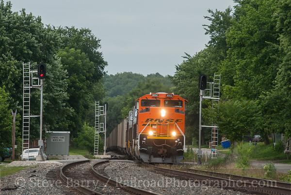 BNSF Railway (on KCS) Noel, Missouri June 15, 2014