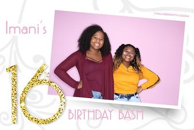 Imani's 16th