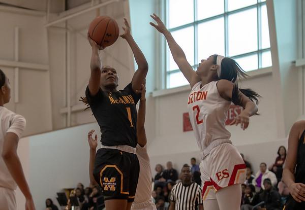 Girls Basketball: Elizabeth Seton vs. Bishop McNamara
