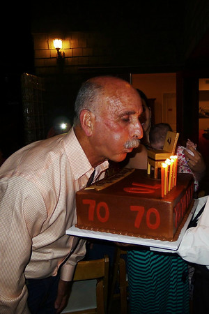 Ron is 70!