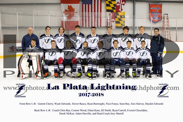 LaPlata Varsity Ice Hockey 2017-2018