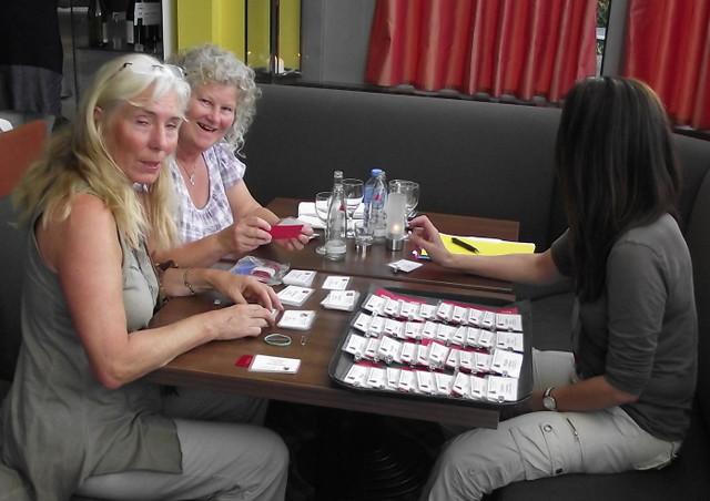 A Hardworking Eva, Evy & Maureen.JPG