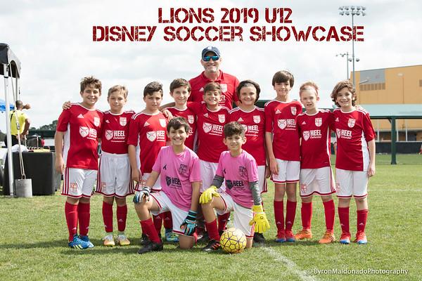 U12 Lions 2019