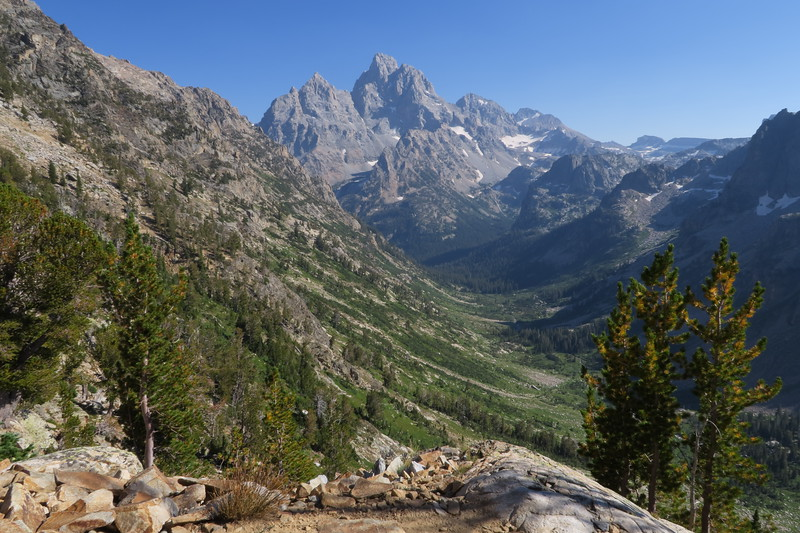 Heading up from North Cascade Canyon toward Paintbrush Divide