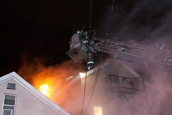 Paterson NJ Fatal 2nd alarm, 103 Gould Ave. 01-18-15
