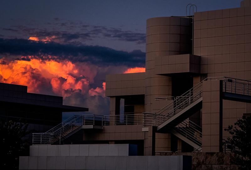 September 9 - Sunset behind the Getty, Los Angeles.jpg