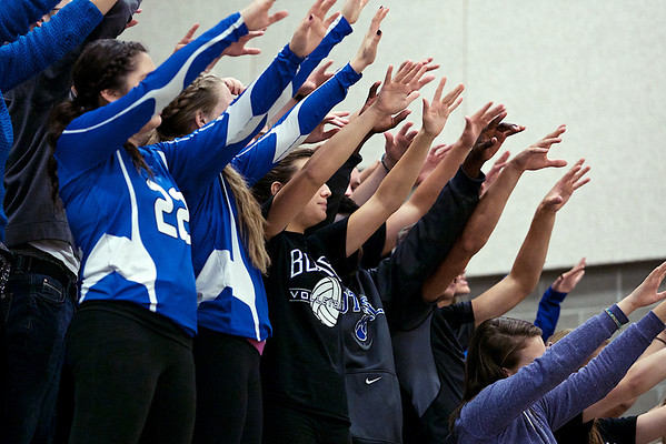 BHS Volleyball v Monroe 2013