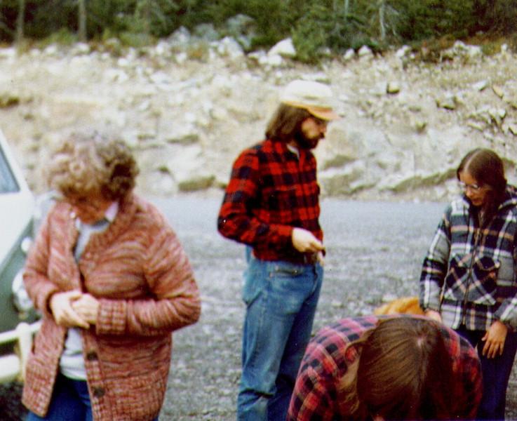 Bonnie,Dave,Connie,Terry, Yukon Territory, 8-81.jpg