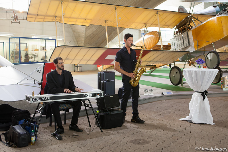 Lederlocher - Rimowa Event at Flieger Flab Museum Dübendorf, Switzerland