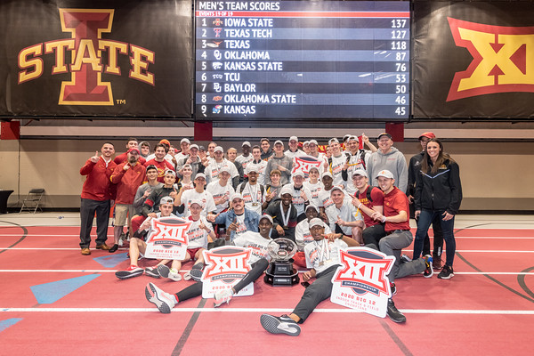 ISU T&F Big12 Indoor 02/28-29/20