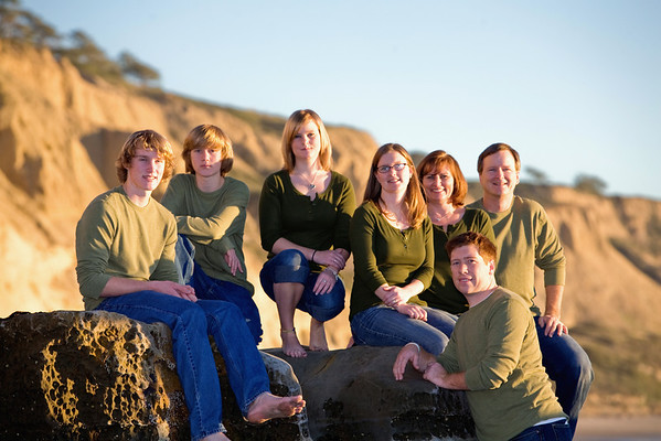 Family Photos at Torrey Pines