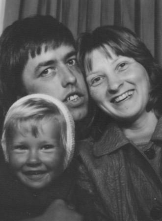 1972 - Mum, Dad & Jacqueline