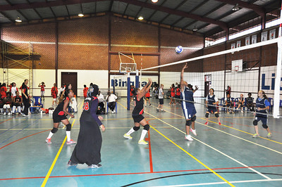 U14 and U16 Girls Volleyball Final vs GCS 2013.05.17