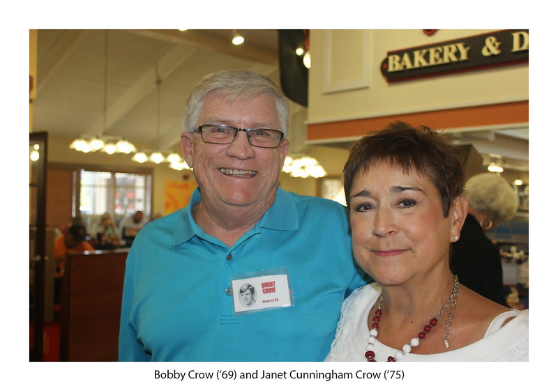 Bobby Crow '69 and Janet Cunningham Crow '75.jpg