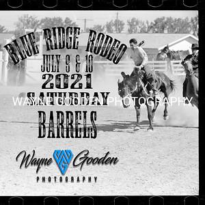 Saturday Night Barrel Racing