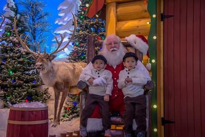 2014 Visiting Santa