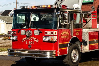 02-04-19 Coshocton FD - Roof Fire