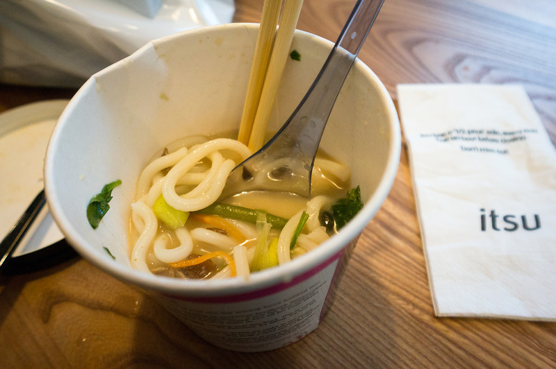 Udon at Itsu in Oxford