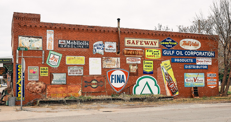 Route 66 - El Reno Crossroads of America