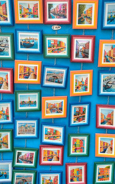 Paintings of Burano