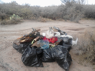 Four Peaks Cleanup 11.05.11