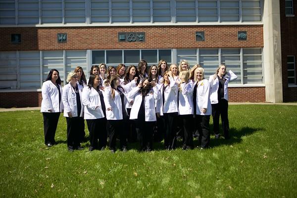 Nurse Photos for Graduating Class 2019