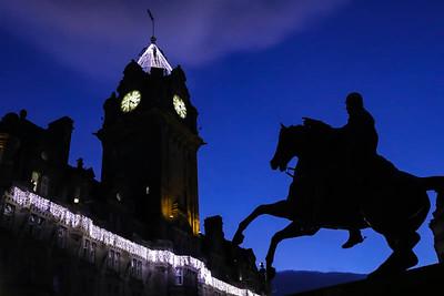 Edinburgh Christmas Lights 2017