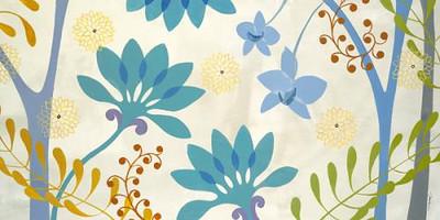 Blue Flowers POD