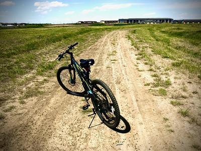 Biking Minot
