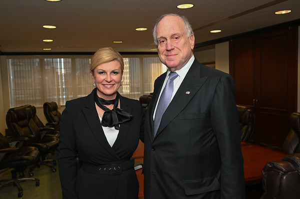2019 UNGA with Ronald S Lauder