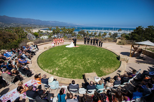 Krista and Mike's Santa Barbara Wedding!