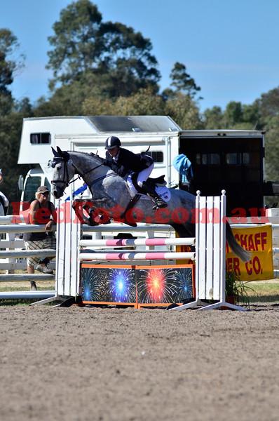 2012 10 20 Swan River Horse Trials Brookleigh CIC ShowJumping EvA105 PreNovice