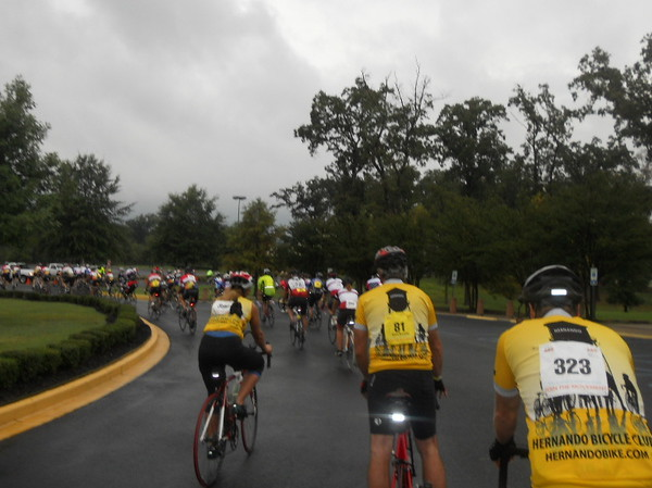 Hernando Bike Club Team, rolling out!