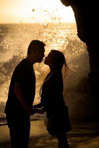 Annie and Brandon (Wedding Proposal Photography) @ Panther Beach, Santa Cruz, California