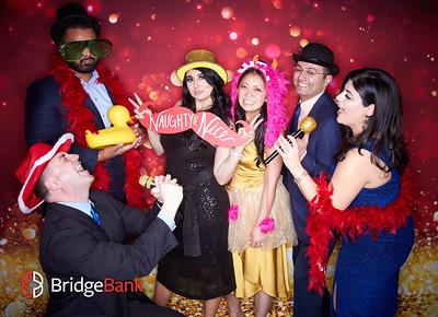 Bridge Bank Employee Holiday Party Studio Booth 2019