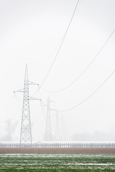 Power Lines - Bastiglia, Modena, Italy - March 1, 2018