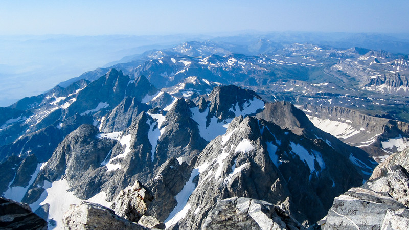 Grand Teton Summit Views