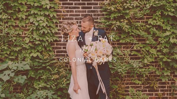 LIZA + PAT ////// COLONIAL DAMES