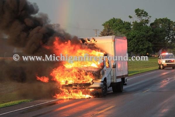 5/26/15 - Mason truck fire, Columbia & Edgar