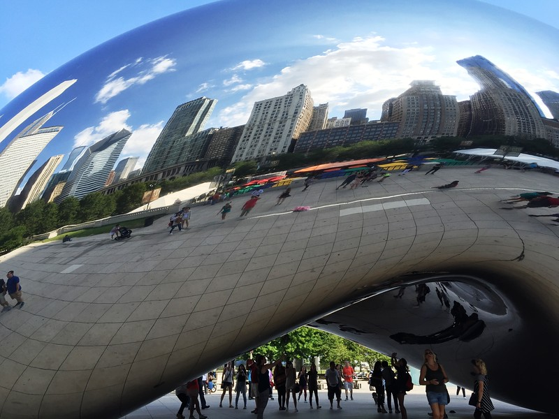 "Cloud Gate (""The Bean"") - Chicago"