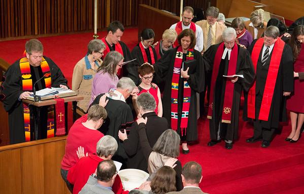 Layton Williams' Ordination