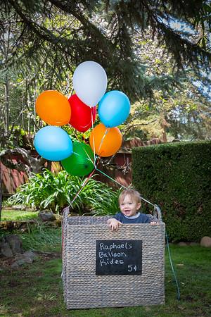 Raphaël's 1st Birthday - April 2015