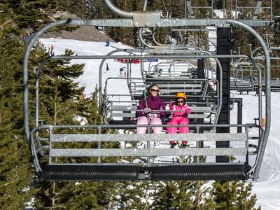 Skiing and Sledding